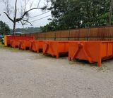 perkhidmatan mengangkut sampah roro bin