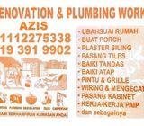 plumbing dan renovation 01112275338 azis taman melati