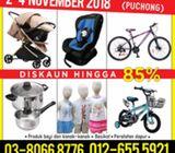 Jualan Gudang Puchong (2-4 Nov 2018)
