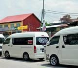 HIRE VAN IN MALAYSIA or SINGAPORE 10 to 18 Seater CHEAPEST