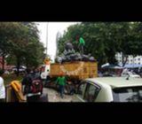 Khidmat lori buang perabot lama & tong sampah(RORO)