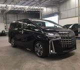 Hire Toyota Vellfire or Alphard with driver Malaysia and Singapore