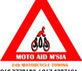 Tunda motosikal 016-3778183 / 017-4387101 / 011-26407873