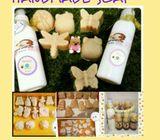 Breastmilk soap making service