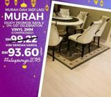 PROMOSI HEBAT WOOD VINYL - ENJOY PROMOSI RAYA & 0% GST CELEBRATION Klang