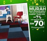 PROMOSI HEBAT CARPET TILES - ENJOY PROMOSI RAYA & 0% GST CELEBRATION KlangLOW PR
