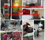 Hafiz renovation dan plumber 01114202239 gombak