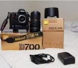 Nikon d700 digital slr camera body