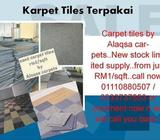 Carpet TILES TERPAKAI-SECOND HAND at only RM1.00/sqft Karpet Malaysia