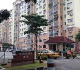 Kinrara Ria Apartment Corner Unit Partly Furnish