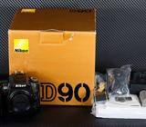 Nikon D90 DX-Format Digital SLR Outfit w/ 18-105mm DX VR and 70-200mm II