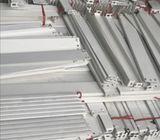 Steel Rack white 8FT