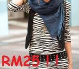 Zebra Print is on Trend Now for only RM25!!