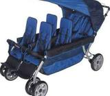 Foundations 4160037 Lx6 Six Passenger Stroller