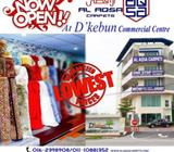 AL AQSA CARPETS - NEW BRANCH AT D'KEBUN COMMERCIAL CENTER PRICES STARTING FROM