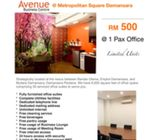 2020 OFFER!!! BEST PRICE Serviced Office Suite in Damansara Perdana