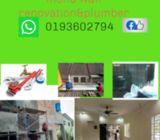 Taman melawati tukang repair rumah plumber dan wiring 0193602794 wafi