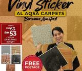 VINYL TILES ADHESIVE AQSA STICKER