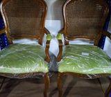 louis back arm chair