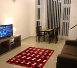 KL Condo 780sf fully Furnished near 5 min Mid valley Mall  for Rent