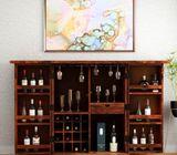 Teak Wine Cabinet