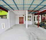 Teres Setingkat murah Taman Meru Jaya 2