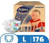Pay On Delivery Drypers 208pcs FREE Pinkfong Toy Storage M L XL