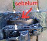 welding repair baiki pagar grill