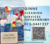 Qinne Cleaning Services Klang 013-3441227