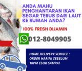 SEAFOOD FRESH terus dari laut ke rumah anda sekitar Selangor/KL