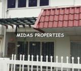 2 Storey House For Rent In Taman Megah, Petaling Jaya