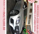 MERCEDES E200 AMG 2.0TURBO JAPANSPEC {O.T.R}RM278,888.88