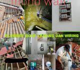 taman bukit permata srigombak baiki bumbung bocor renovation dan plumber wiring 0193602794