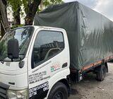 Hino lorry rent/sewa daily monthly
